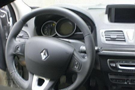 Renault Megane 3 Interior. El interior está muy