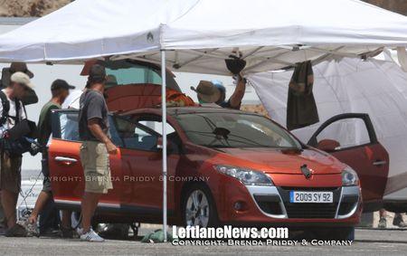 Renault Mégane III, fotos espía en naranja