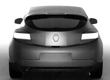 Renault Mégane Coupé, primeras imágenes de la oficina de patentes