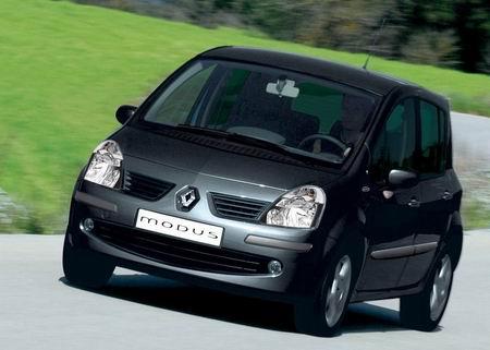 Renault Modus, nuevos equipamientos