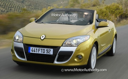 Renault Mégane Cabrio, recreación