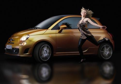 El Rinspeed E2 Concept es un bonito Fiat 500