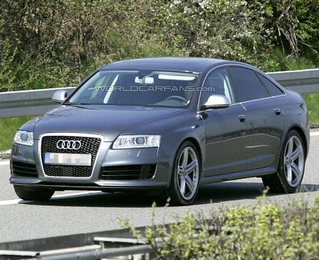 Audi RS6 Sedán, fotos espía