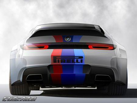Racer X Design BMW RZR-M6, homenaje a los clásicos