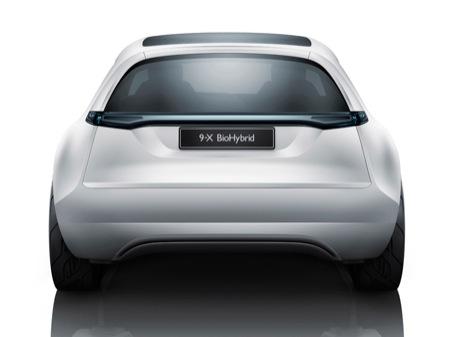 Saab 9-X BioHybrid Concept, prototipo ecológico de cara al 9-1