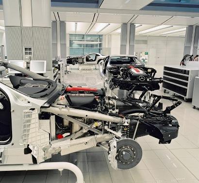 Fábrica SLR Mclaren 722 Edition