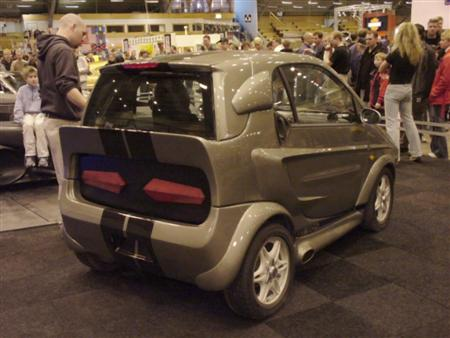 Smart Fortwo - Shelby Mustang GT500 Eleanor