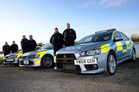 Mitsubishi Lancer Evolution X para la Policía de South Yorkshire