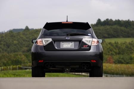 Fotos oficiales del Subaru Impreza WRX STi 2008
