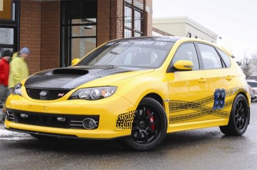 Subaru Impreza WRX STI, versión especial para Travis Pastrana