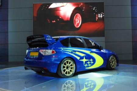 Subaru WRC Concept, presentación en Frankfurt