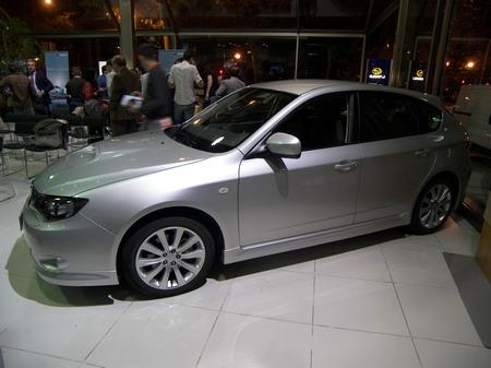 Subaru Impreza, presentación en Madrid