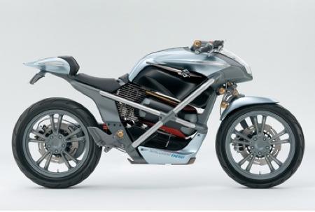 Suzuki Biplane y Crosscage, prototipos de motocicletas