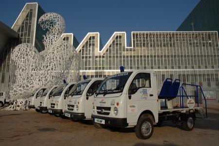 TATA ACE, uno de los vehículos eléctricos en la Expo de Zaragoza