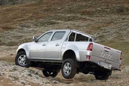 Tata Xenon, pick-up india al estilo europeo