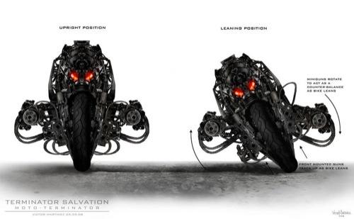 La motocicleta de Terminator 4