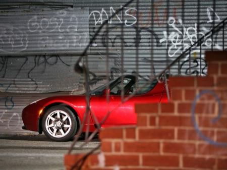 Galería de imágenes del Tesla Roadster y vídeo del crashtest