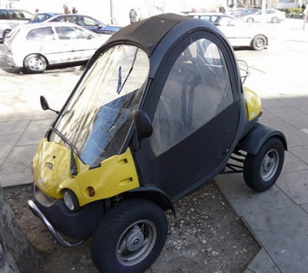 Top 10 de coches bizarros
