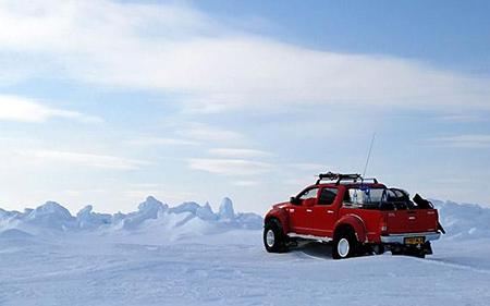 Vídeos En El Polo Norte De Top Gear, Toyota Hilux Preparada