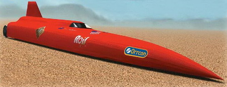 Los 15 vehículos de récords de velocidad más llamativos
