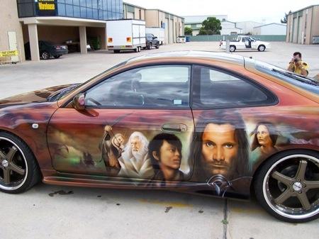 El Toyota Celica del Señor de los Anillos