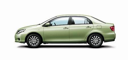 Nuevas imagenes del Toyota Corolla 2007, en versión sedán y station wagon