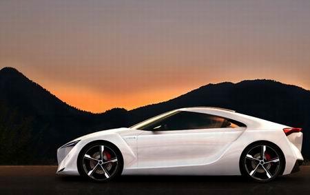 Toyota FT-HS Hybrid Sports Concept