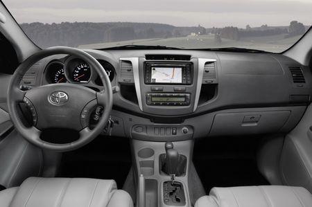Toyota Hilux, ligero lavado de cara