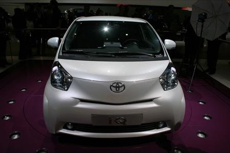 Toyota iQ, versión de producción