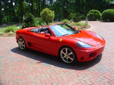 Toyota MR2 convertido en un Ferrari 360 Spyder