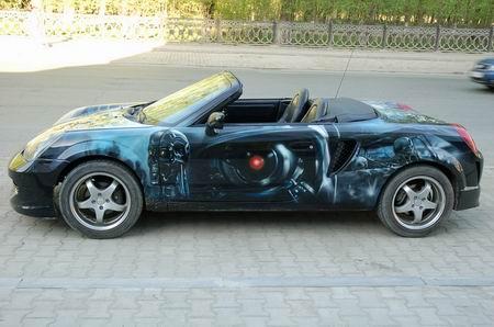 Toyota MR2 Terminator, de noche y de día