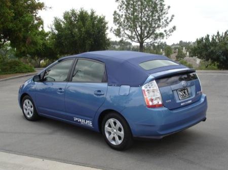 Toyota Prius descapotable, originalidad personal
