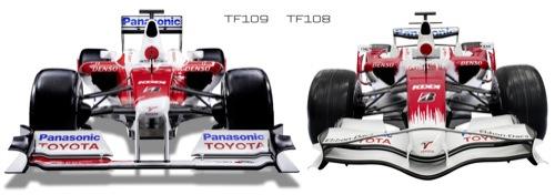 Monoplazas F1 2009