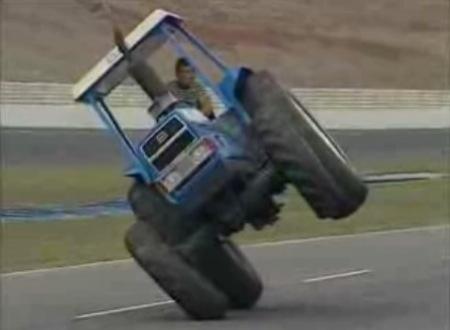 Tractor a dos ruedas