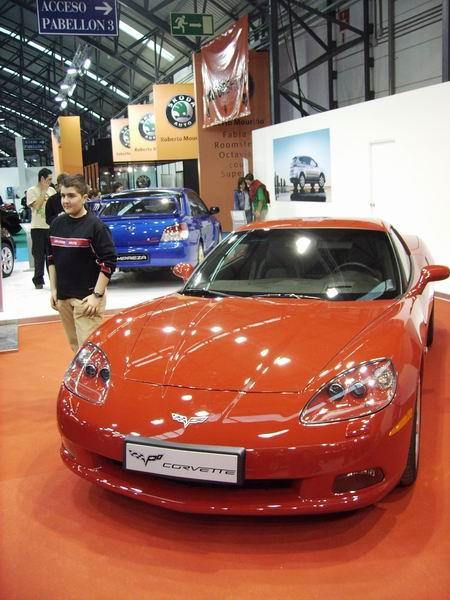 Salón de Vigo 2007: Chevrolet Corvette Z06
