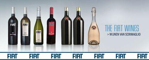 Vinos Alfa Romeo, Lancia y Fiat, estilo italiano embotellado