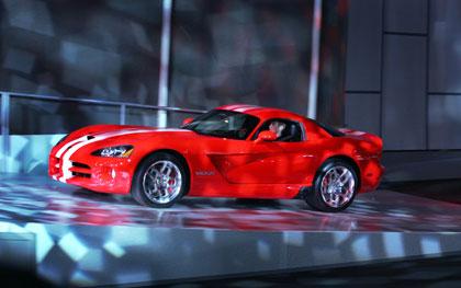 Viper SRT10 2007, presentación en Detroit