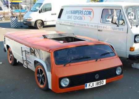El bus más más bajo de Volkswagen