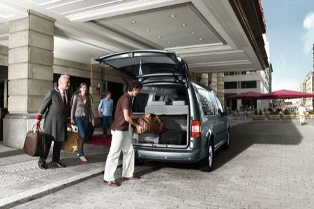 Volkswagen Caddy Maxi Life, furgoneta señorial