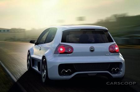 Volkswagen Golf V GTI W12 Concept