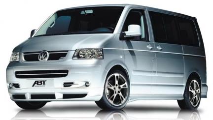 Tuning de calidad para furgonetas: Volkswagen Multivan T5 por ABT