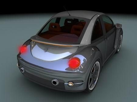 Volkswagen New Beetle preparado por JRD Tuning