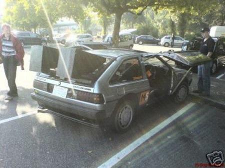 Quiero y no puedo: Volkswagen Scirocco convertido en Delorean DMC-12