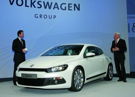 Volkswagen Scirocco en Ginebra