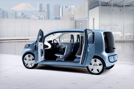 Volkswagen Space Up Concept, la versión de 5 puertas del Up