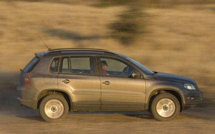Volkswagen Tiguan, fotos en Namibia
