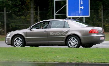 Volkswagen Phaeton con lavado de cara