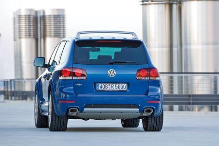 Volkswagen Touareg R50, imágenes oficiales y precios para España