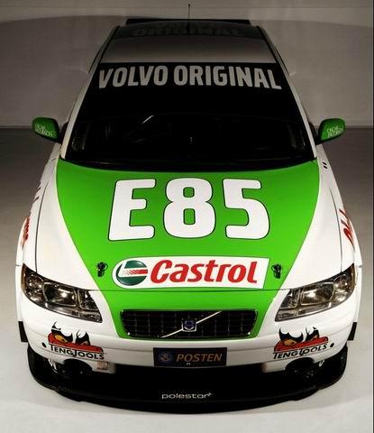 Volvo competirá en Suecia con un modelo propulsado por bioetanol E85