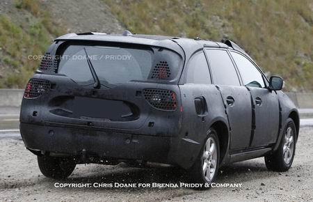 Fotos espía del Volvo XC70 2008